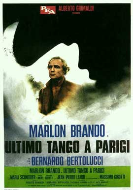 Last Tango in Paris - 11 x 17 Movie Poster - Italian Style A
