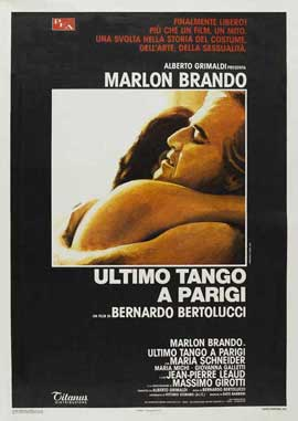 Last Tango in Paris - 27 x 40 Movie Poster - Italian Style B