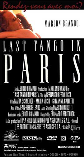 Last Tango in Paris - 20 x 40 Movie Poster - Style B
