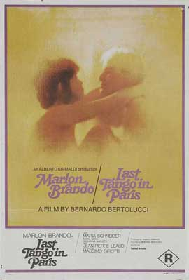 Last Tango in Paris - 11 x 17 Movie Poster - Style E