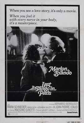 Last Tango in Paris - 27 x 40 Movie Poster - Style E