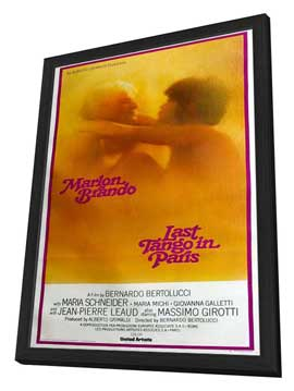 Last Tango in Paris - 20 x 40 Movie Poster - Style A - in Deluxe Wood Frame