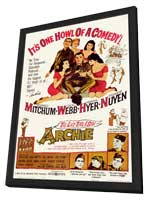 Last Time I Saw Archie - 11 x 17 Movie Poster - Style A - in Deluxe Wood Frame