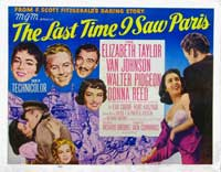 The Last Time I Saw Paris - 11 x 17 Movie Poster - Style C
