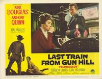 Last Train from Gun Hill - 11 x 14 Movie Poster - Style D