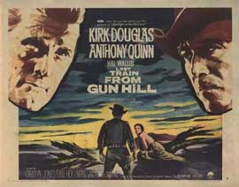 Last Train from Gun Hill - 22 x 28 Movie Poster - Half Sheet Style A