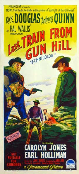 Last Train from Gun Hill - 14 x 36 Movie Poster - Insert Style C