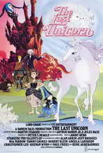 The Last Unicorn - 27 x 40 Movie Poster - Style B