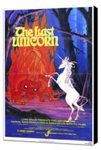 The Last Unicorn - 27 x 40 Movie Poster - Style A - Museum Wrapped Canvas