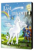 The Last Unicorn - 27 x 40 Movie Poster - Style C - Museum Wrapped Canvas