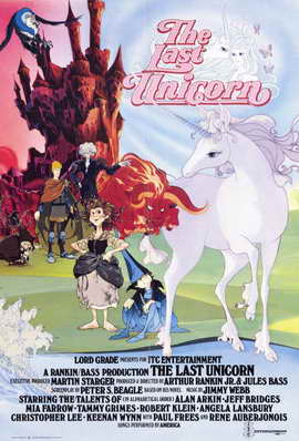 The Last Unicorn - 11 x 17 Movie Poster - Style B