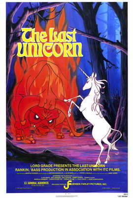 The Last Unicorn - 27 x 40 Movie Poster