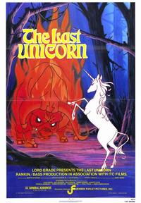 The Last Unicorn - 43 x 62 Movie Poster - Bus Shelter Style A