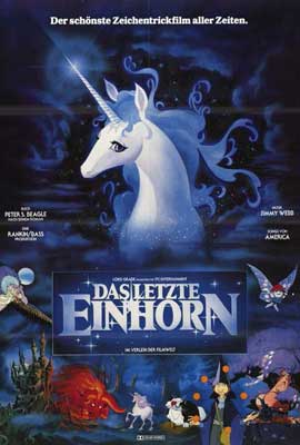 The Last Unicorn - 27 x 40 Movie Poster - Foreign - Style A