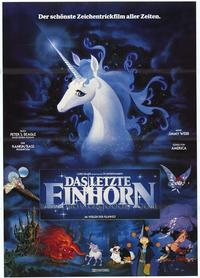 The Last Unicorn - 43 x 62 Poster - Foreign - Bus Shelter Style A