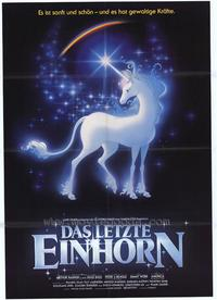 The Last Unicorn - 43 x 62 Poster - Foreign - Bus Shelter Style B