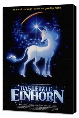 The Last Unicorn - 27 x 40 Movie Poster - Foreign - Style B - Museum Wrapped Canvas
