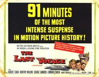 The Last Voyage - 22 x 28 Movie Poster - Half Sheet Style A