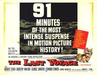 The Last Voyage - 22 x 28 Movie Poster - Half Sheet Style B