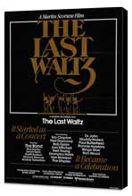 The Last Waltz - 11 x 17 Movie Poster - Style A - Museum Wrapped Canvas