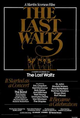 The Last Waltz - 27 x 40 Movie Poster - Style A