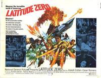 Latitude Zero - 22 x 28 Movie Poster - Half Sheet Style A