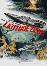 Latitude Zero - 11 x 17 Movie Poster - Style B
