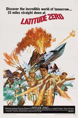 Latitude Zero - 11 x 17 Movie Poster - Style C