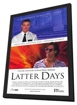 Latter Days - 11 x 17 Movie Poster - Style A - in Deluxe Wood Frame