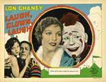 Laugh, Clown, Laugh - 11 x 14 Movie Poster - Style E