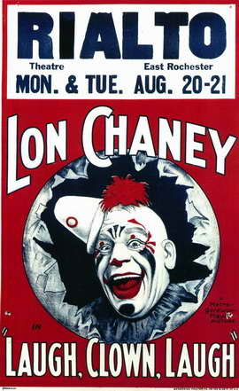 Laugh, Clown, Laugh - 11 x 17 Movie Poster - Style A