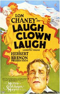 Laugh, Clown, Laugh - 11 x 17 Movie Poster - Style B