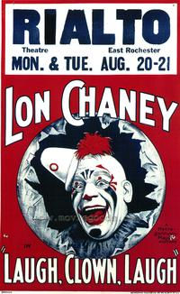 Laugh, Clown, Laugh - 43 x 62 Movie Poster - Bus Shelter Style A