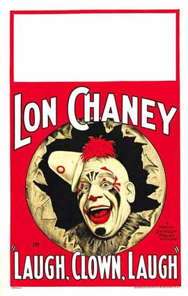 Laugh, Clown, Laugh - 11 x 17 Movie Poster - Style D