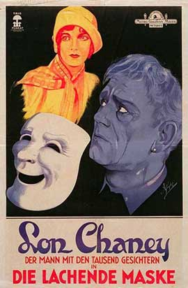 Laugh, Clown, Laugh - 11 x 17 Movie Poster - German Style A