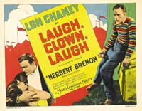 Laugh, Clown, Laugh - 11 x 14 Movie Poster - Style H