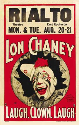 Laugh, Clown, Laugh - 27 x 40 Movie Poster - Style B