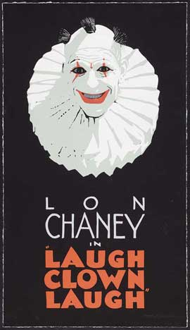 Laugh, Clown, Laugh - 11 x 17 Movie Poster - Style F
