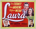 Laura - 22 x 28 Movie Poster - Half Sheet Style A