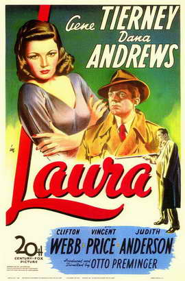 Laura - 11 x 17 Movie Poster - Style A