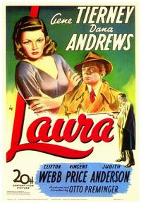 Laura - 43 x 62 Movie Poster - Bus Shelter Style A