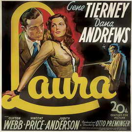 Laura - 27 x 40 Movie Poster