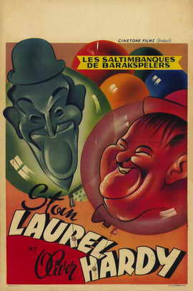 Laurel and Hardy's Laughing 20's - 11 x 17 Movie Poster - Belgian Style B