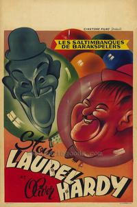 Laurel and Hardy's Laughing 20's - 27 x 40 Movie Poster - Belgian Style B