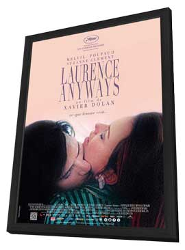 Laurence Anyways - 11 x 17 Movie Poster - Belgian Style A - in Deluxe Wood Frame