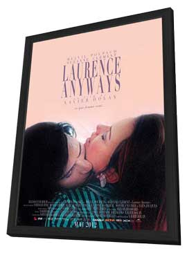 Laurence Anyways - 11 x 17 Movie Poster - Canadian Style A - in Deluxe Wood Frame