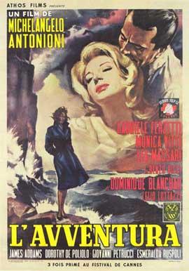 L'Avventura - 11 x 17 Movie Poster - Italian Style A