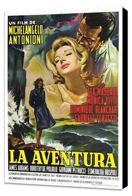 L'Avventura - 27 x 40 Movie Poster - Spanish Style A - Museum Wrapped Canvas
