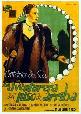 L'avventuriera del piano di sopra - 11 x 17 Movie Poster - Spanish Style B