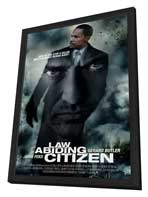 Law Abiding Citizen - 11 x 17 Movie Poster - Style C - in Deluxe Wood Frame